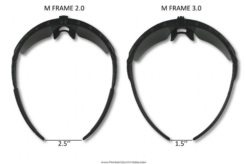 Bird S Eye View Of The Oakley M Frame 3 0 Glasses And The