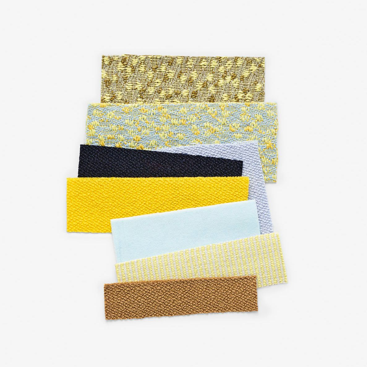 The soft summery palette of the new Kvadrat/Raf Simons collection