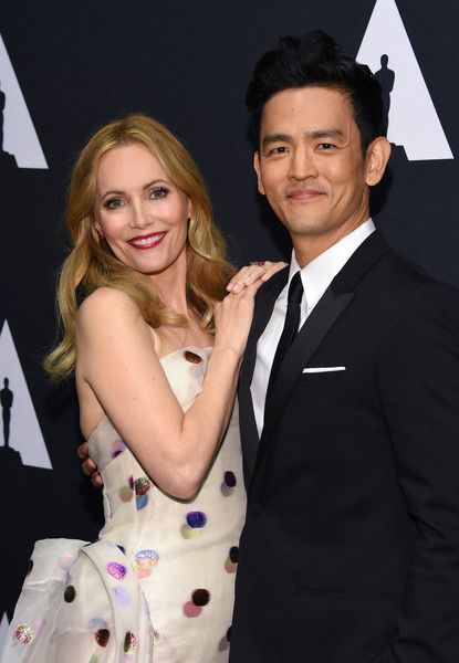 Leslie Mann and John Cho attend the Scientific and Technical Awards presented by the Academy of Motion Picture Arts and Sciences at the Beverly Wilshire Hotel in Beverly Hills, California, February 11, 2017. / AFP / CHRIS DELMAS