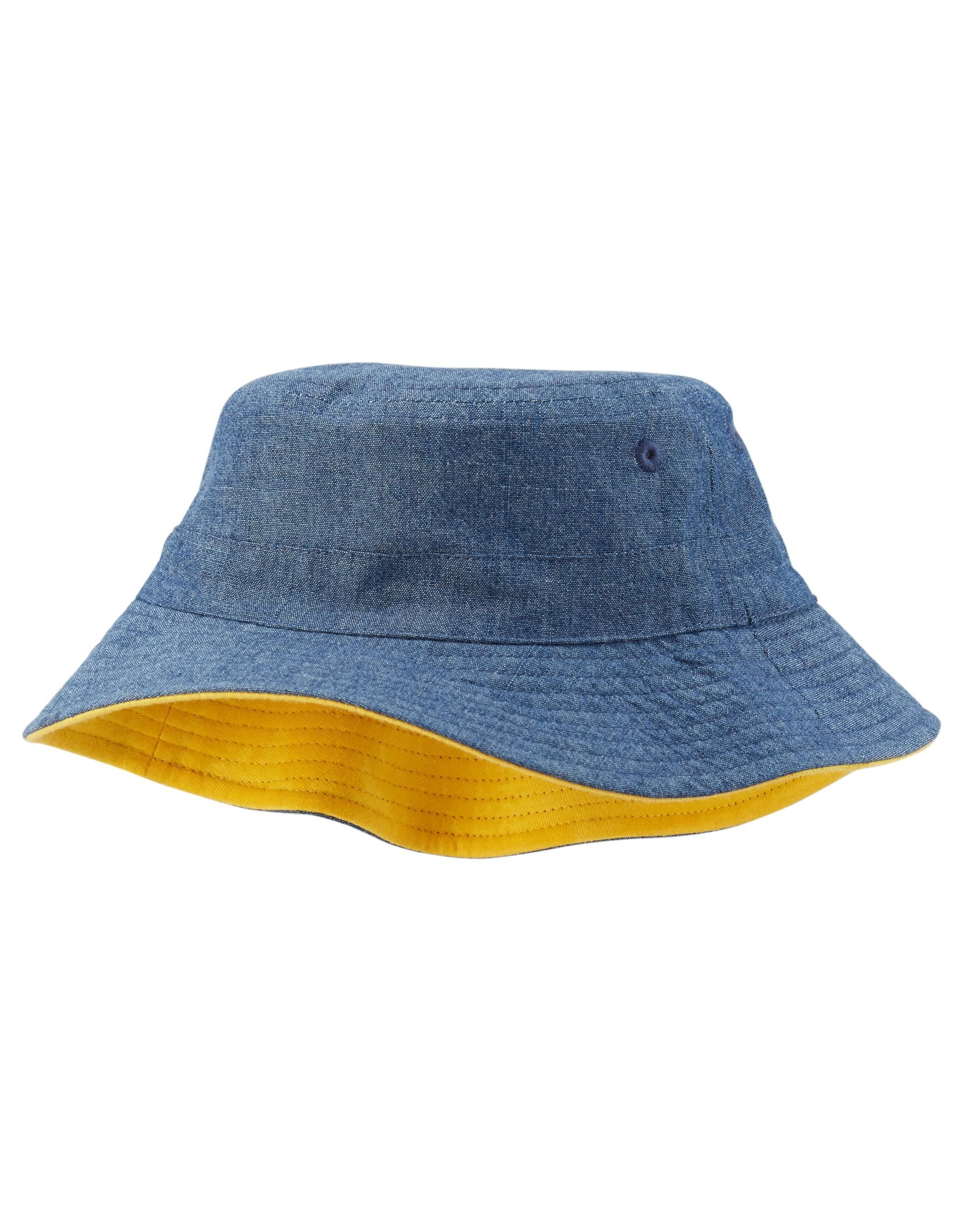 dc64a7ad51d Baby Boy Chambray Bucket Hat