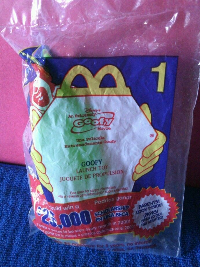 2000 McDonalds Happy Meal Toy - An Extremely Goofy Movie Launch Toy - #1 Goofy #Disney