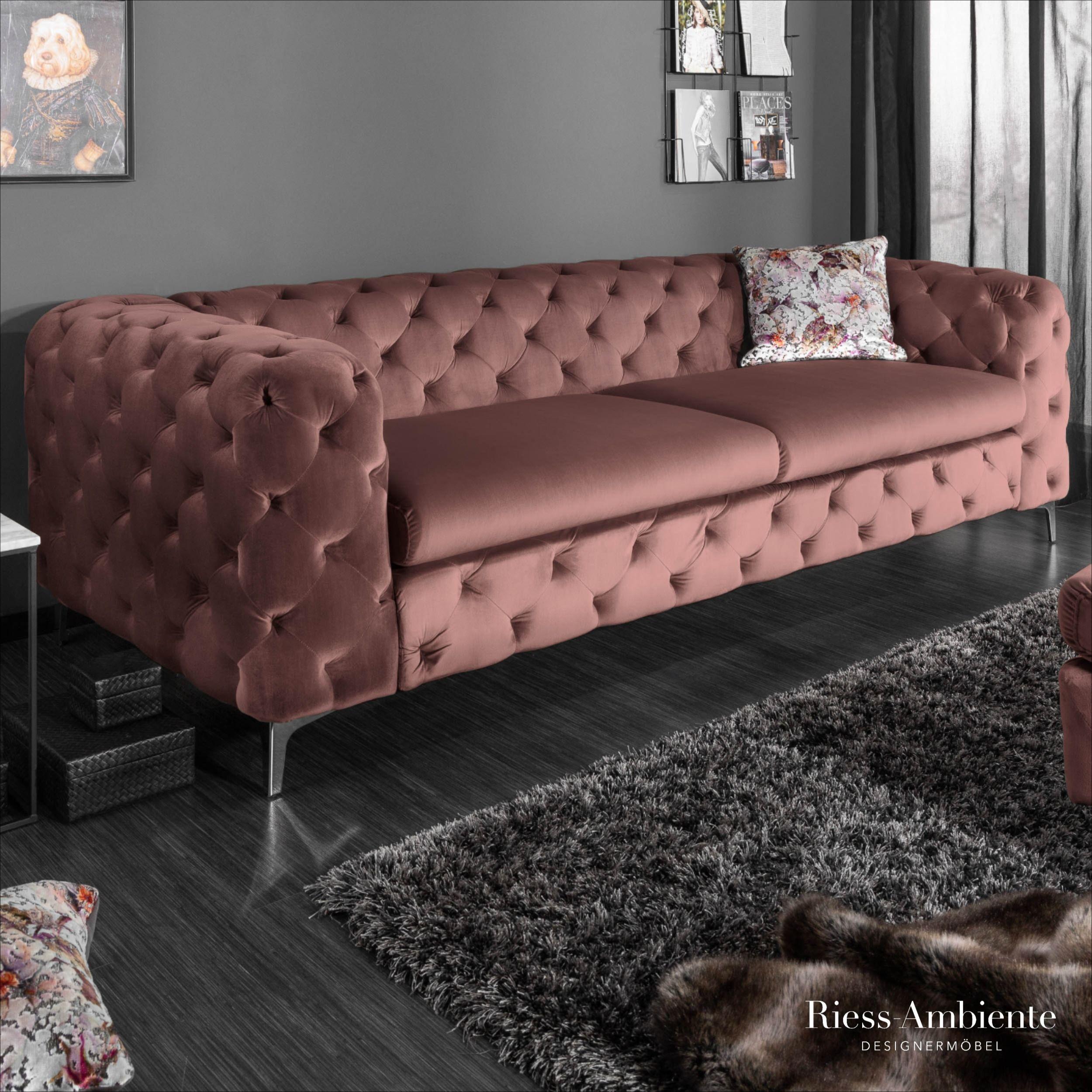 Chesterfield 3er Sofa Modern Barock Mobilya Tasarim Kanepeler