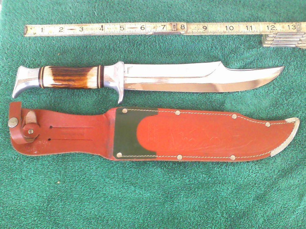 Vintage Edge Mark Solingen, Germany Bowie Knife Model #469