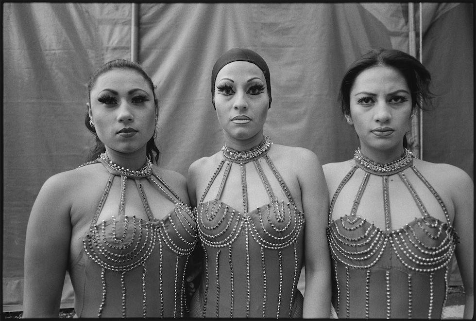 Three acrobats, Vàzquez Brothers Circus, Mexico City, Mexico, 1997