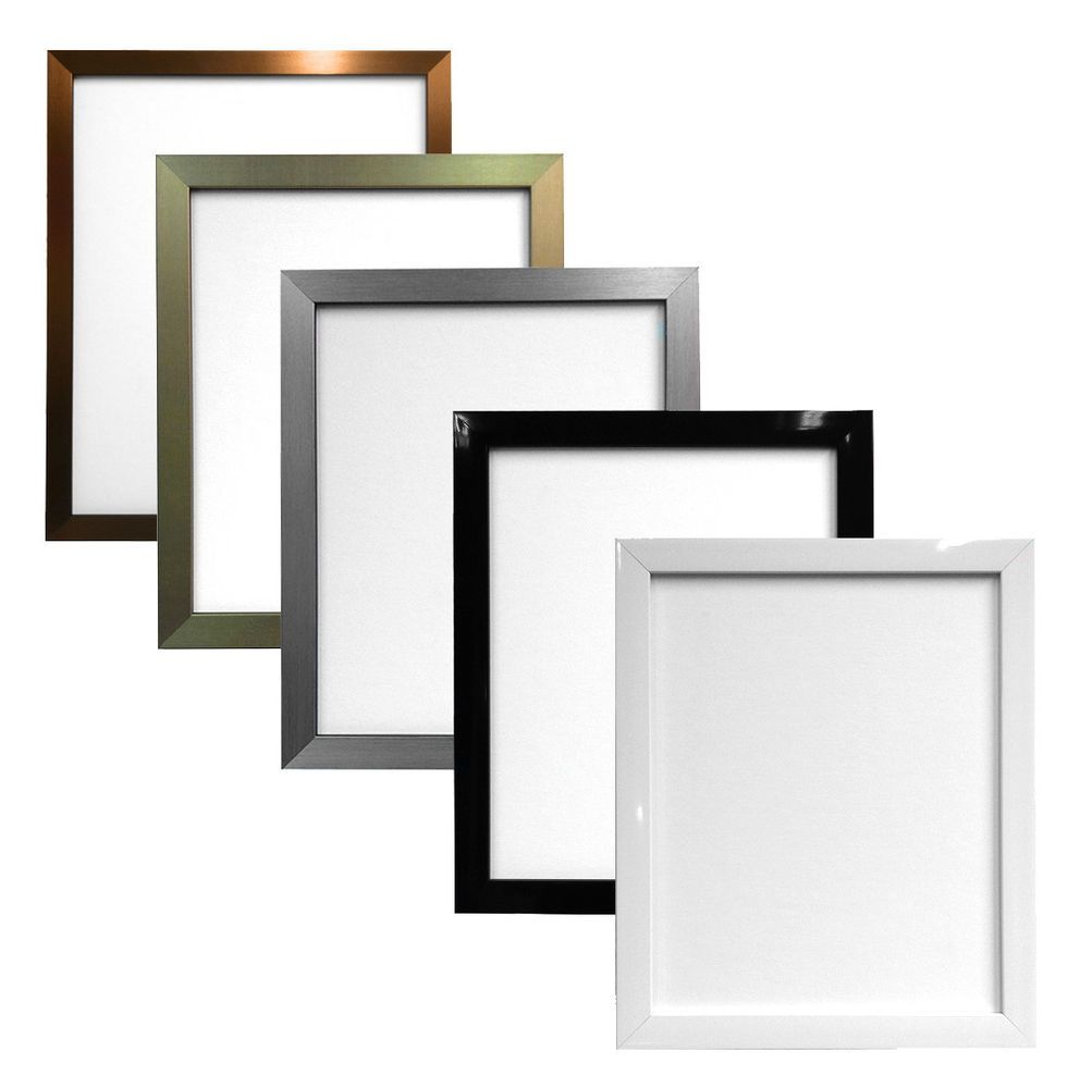 075 inch quality gloss black white gold silver bronze picture 075 inch quality gloss black white gold silver bronze picture photo frames jeuxipadfo Image collections