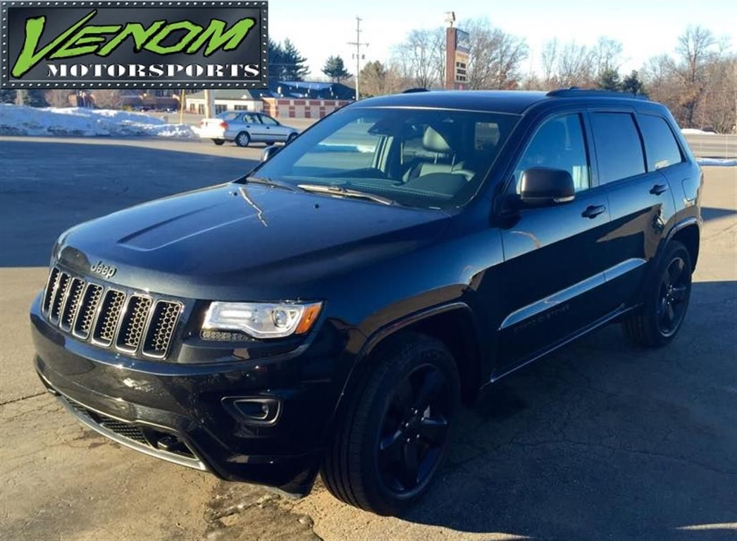 Jeep Grand Rapids >> Blacked Out Jeep Grand Cherokee By Venom Motorsports In