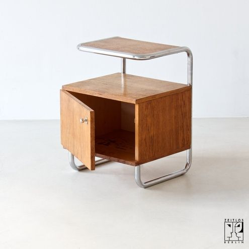 Bedside cabinet by Rudolf Vichr
