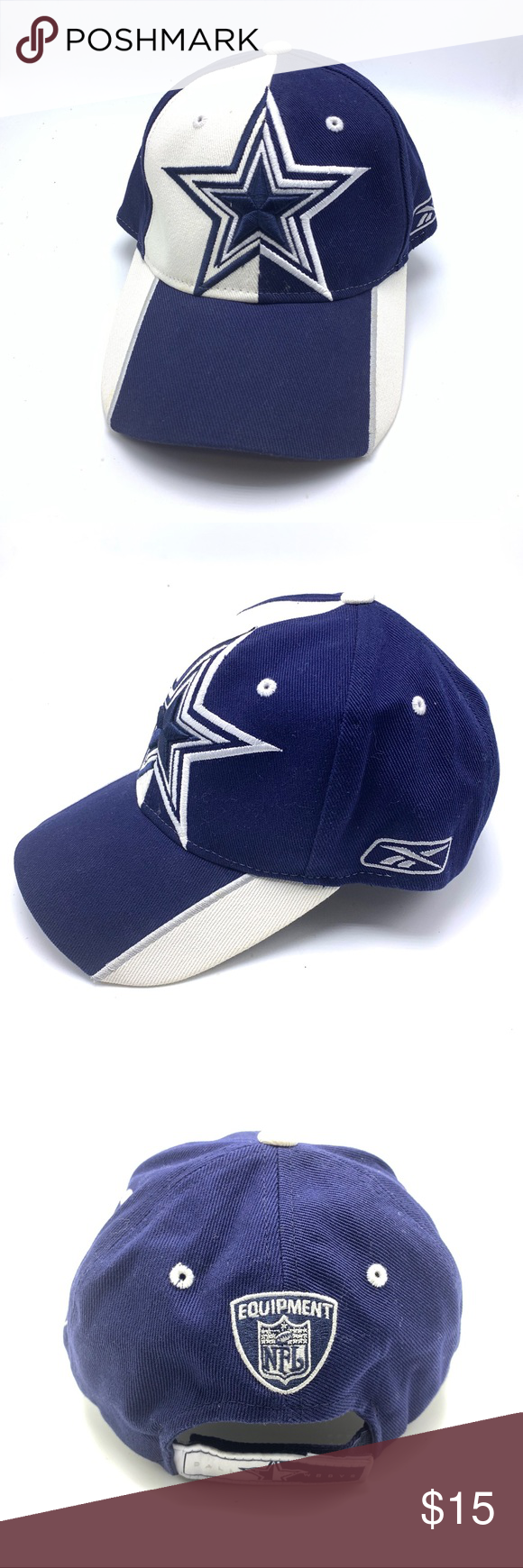 f57358ad6 Dallas Cowboys Hat Reebok NFL Dallas Cowboys Hat Reebok NFL Reebok Accessories  Hats