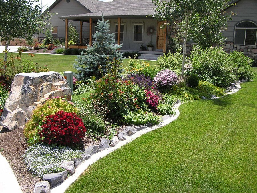 Beautiful Landscaped Yard Landscaping Yardideas Backyards