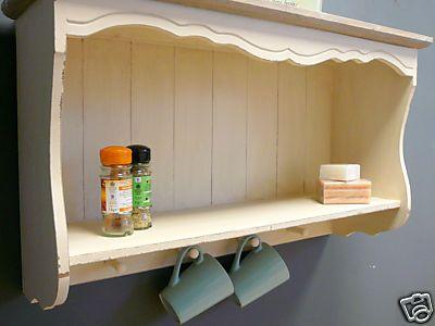 Genial Country Ash Range   Cream Wall Shelf