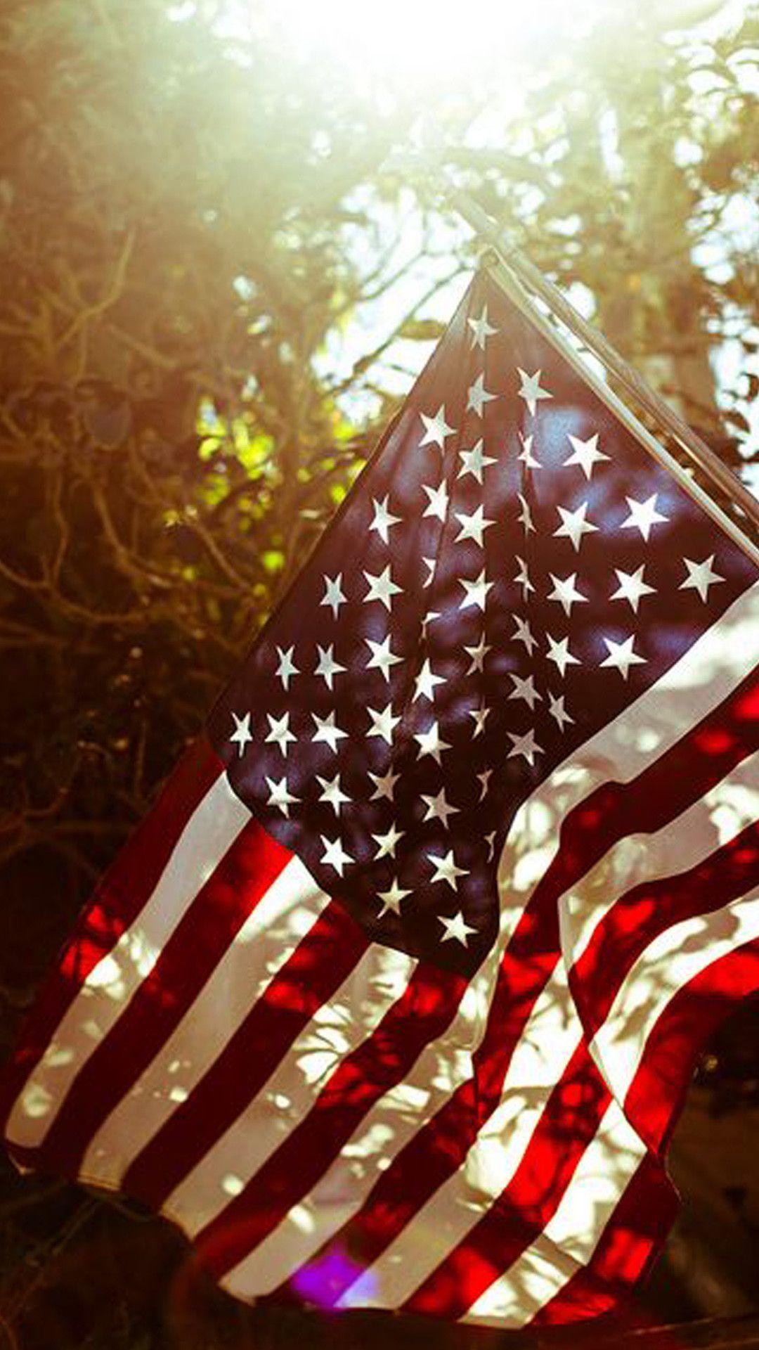 Vintage American Flag Wallpaper Android Download Vintage