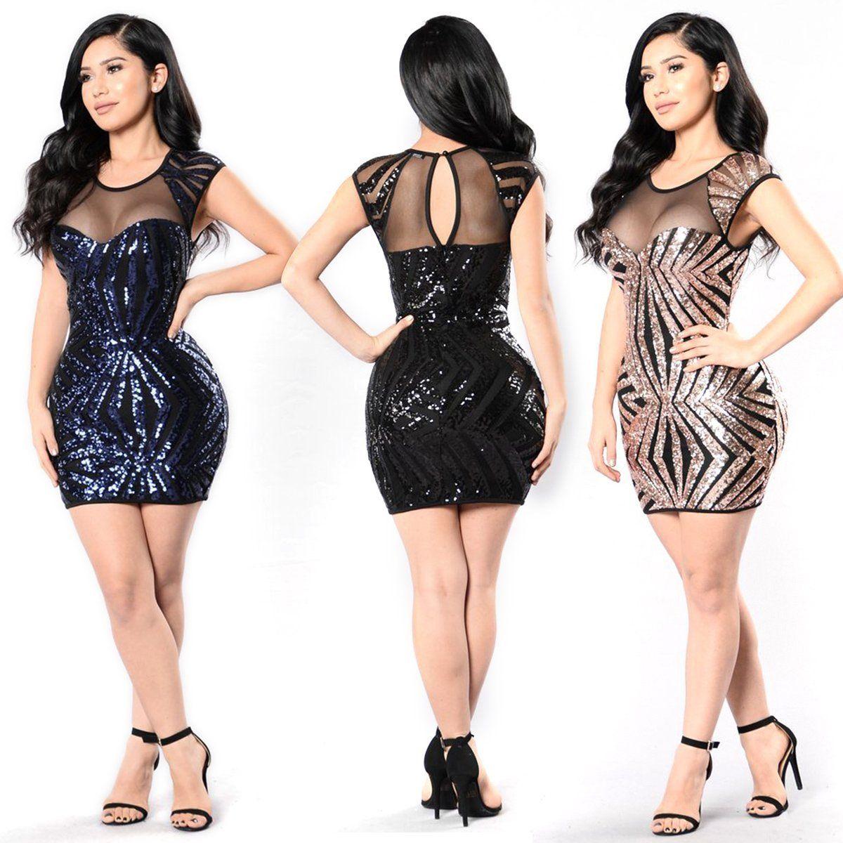 92b6545303a3 Women s Bandage Bodycon Sleeveless Evening Party Cocktail Club Short Mini  Dress
