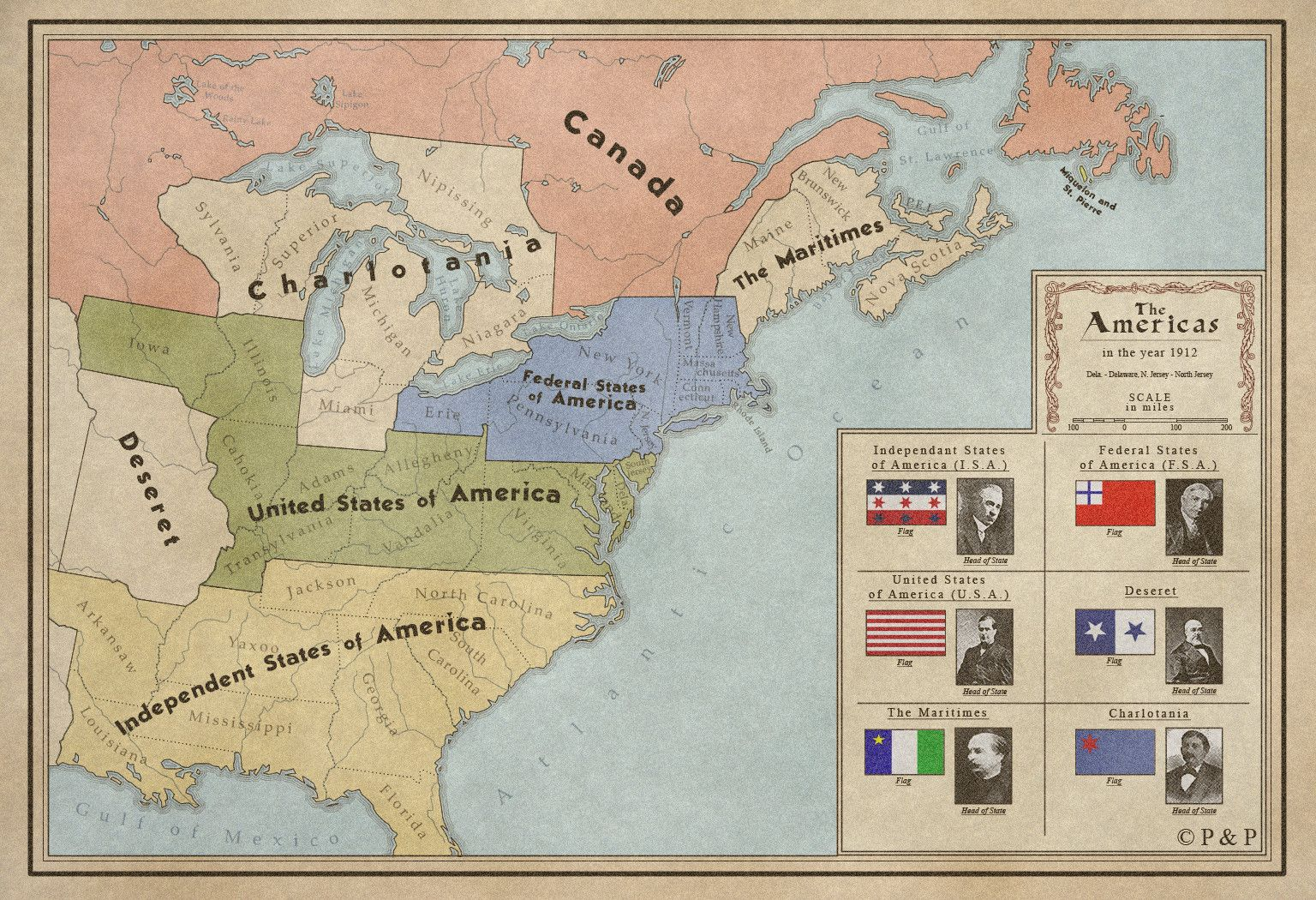 Alternate History Maps Of America Alternate History And History - Alternate us map