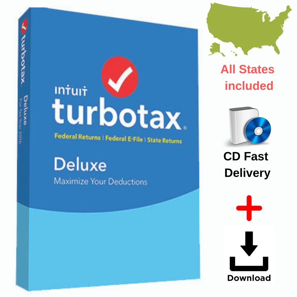 intuit turbotax deluxe 2018 download