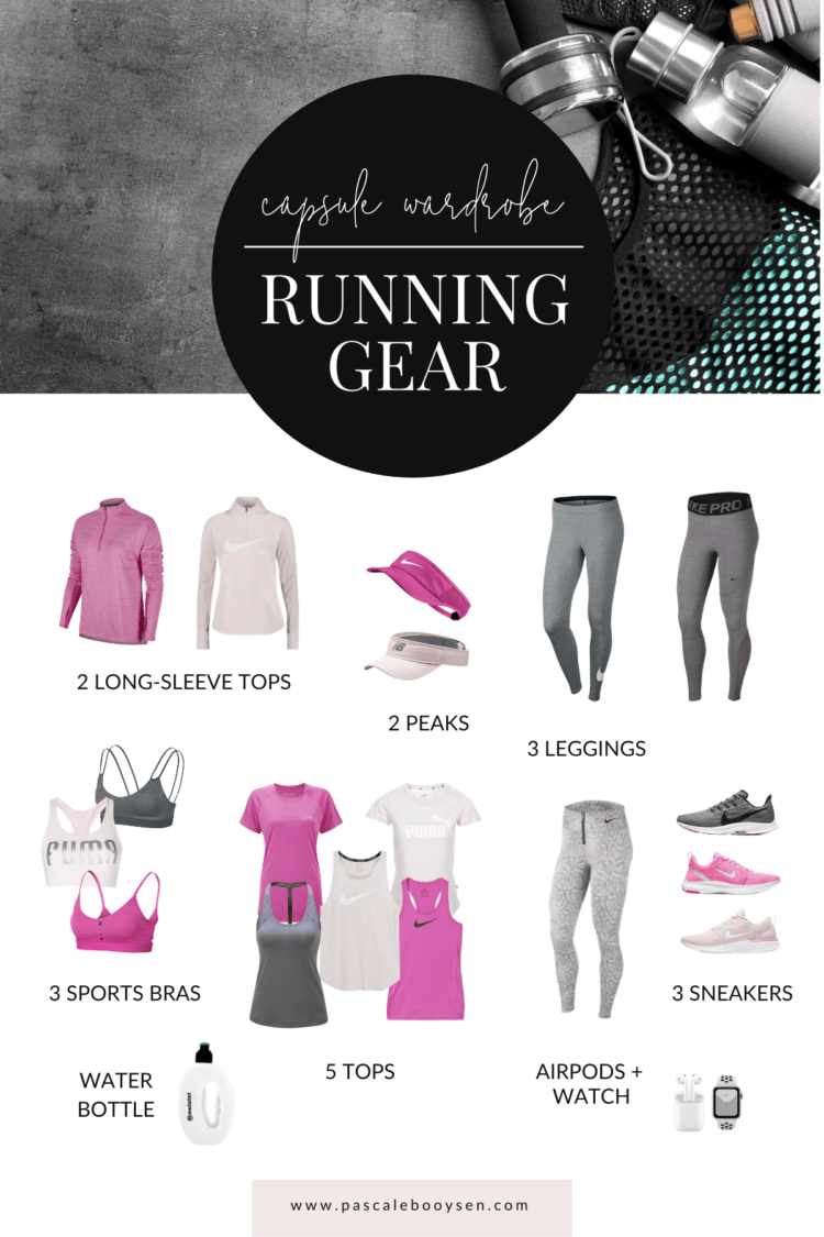 HOW TO BUILD A RUNNING CAPSULE WARDROBE – PASCALE D.S. BOOYSEN