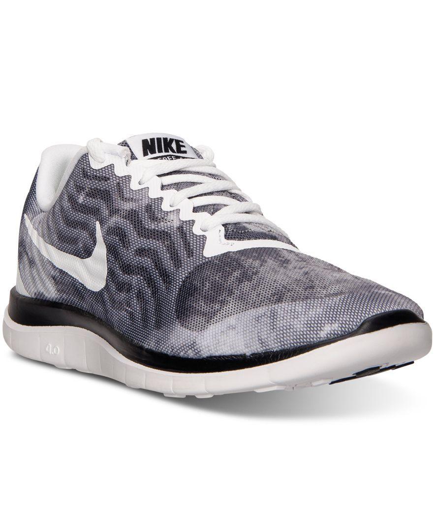 Nike Mens Libre 4,0 Chaussures De Course De La Ligne Darrivée