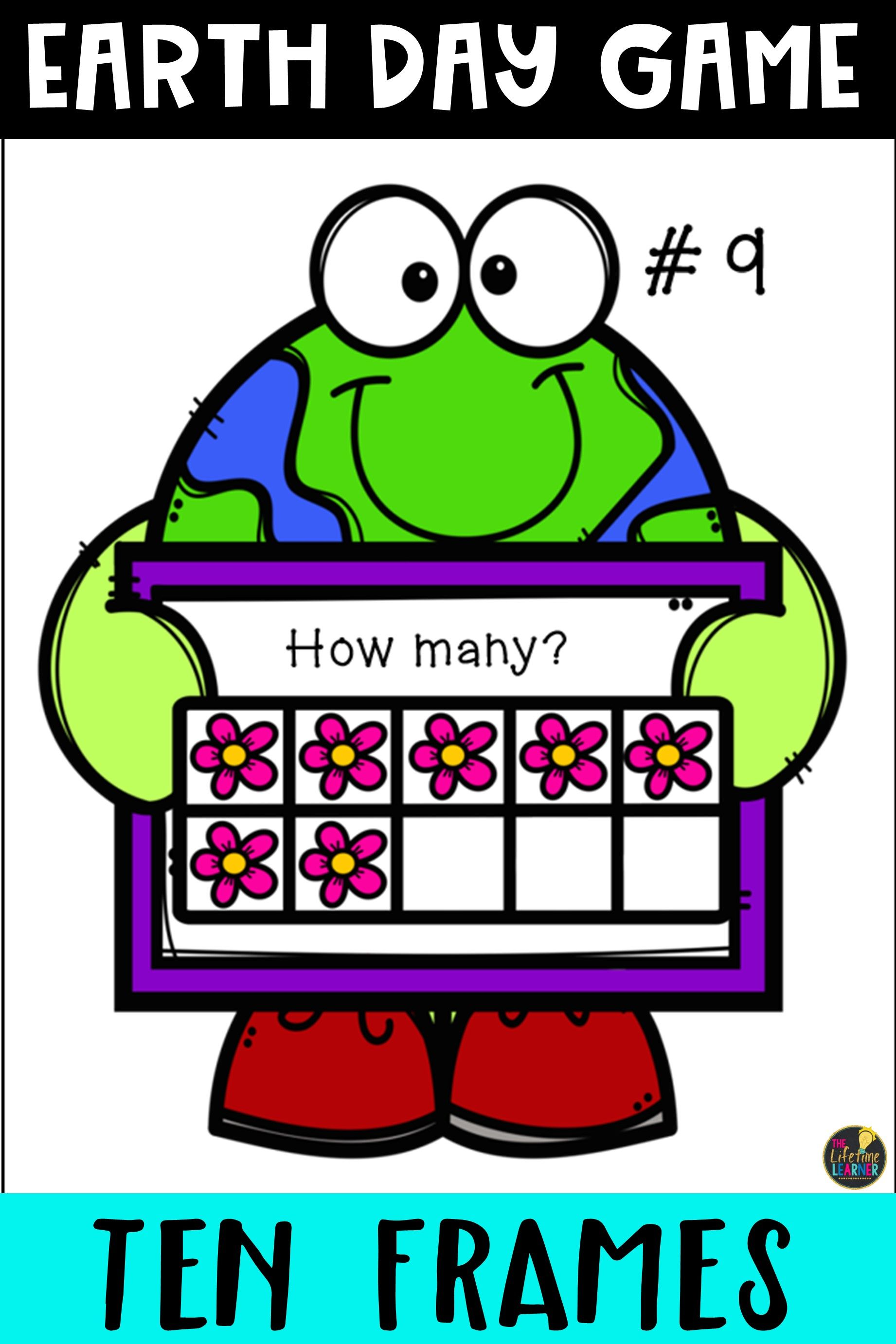 Earth Day Math Game