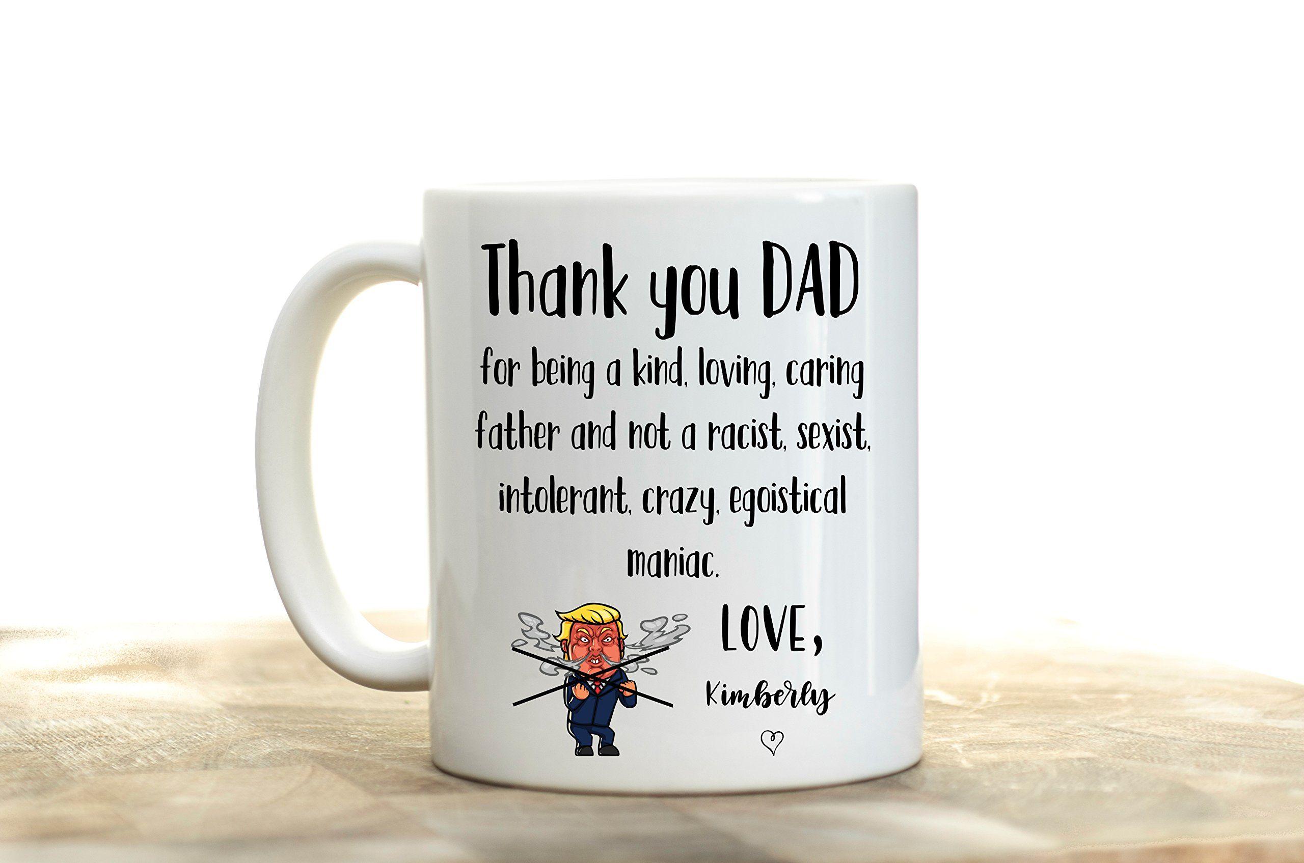 Fathers day mug dad mug personalized funny best birthday