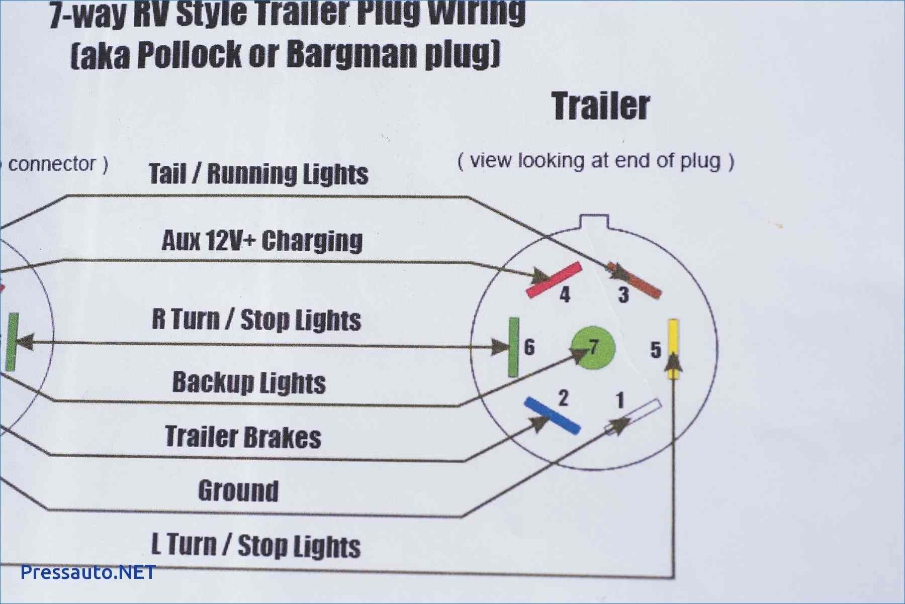 Trailer Wiring Diagram 7 Way Wellread In 2020 Trailer Wiring Diagram Trailer Light Wiring Boat Trailer Lights