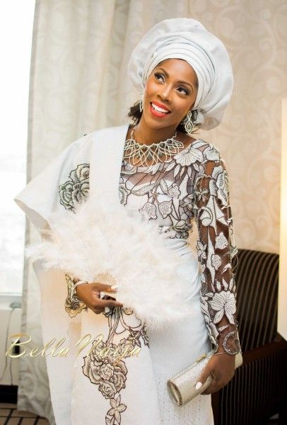 First Photos From Tiwa Savage's Traditional Wedding