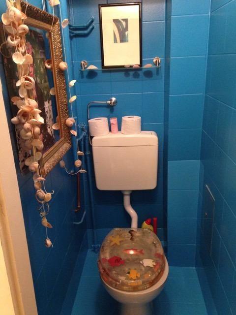 Blaues Badezimmer Wie Im Meer: 2 Zimmerwohnung 45m² 1190   Wohnung In Wien