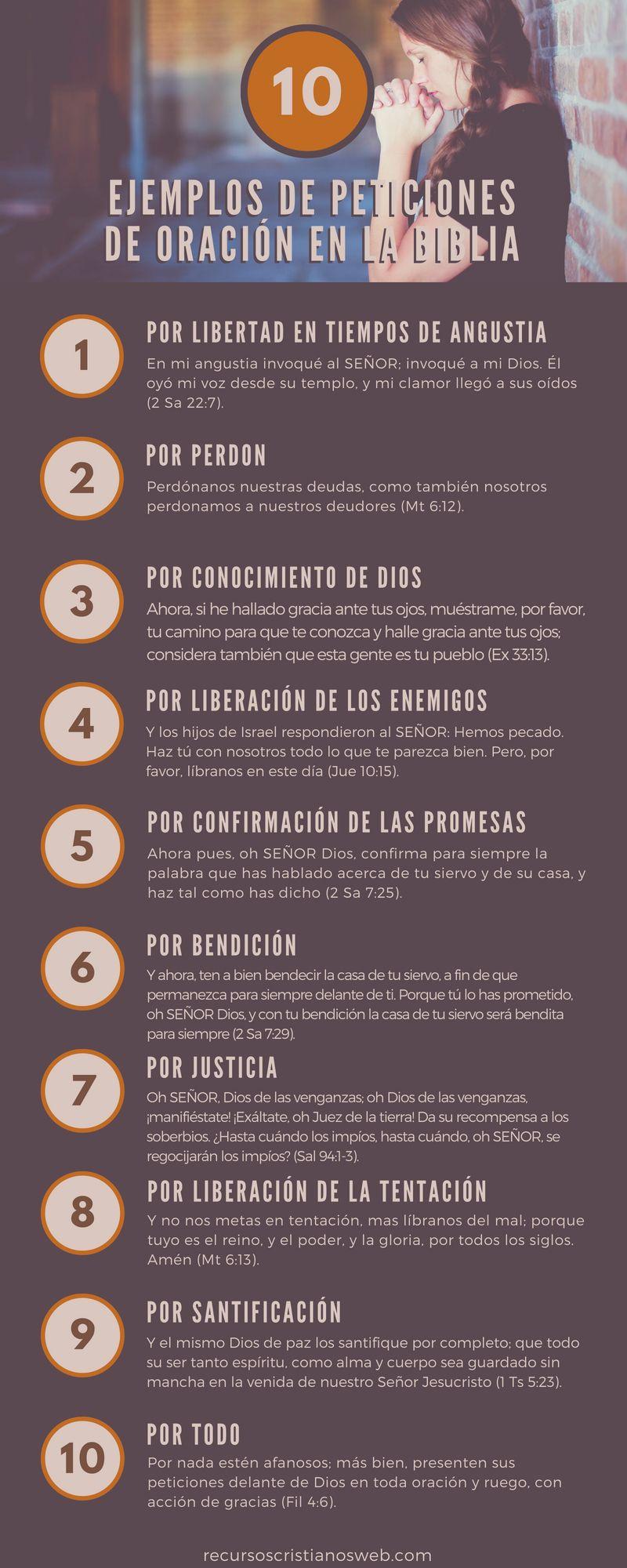 10 Ejemplos De Peticion De Oracion A Dios Versciculosbiblicos