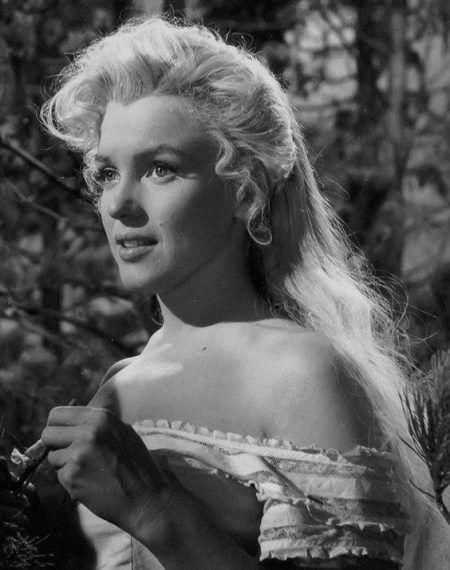 Marilyn filming River of No Return, 1953.