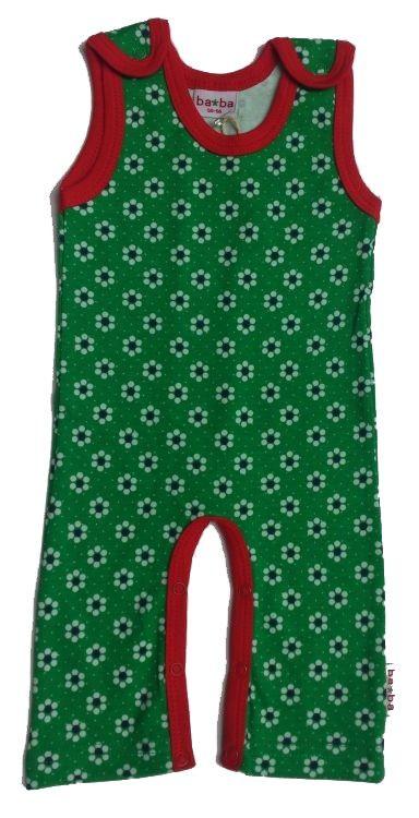 Babykleding Belgie.Baba Babywear Jumpsuit Betty Bloem Groen Hippe Babykleding Van