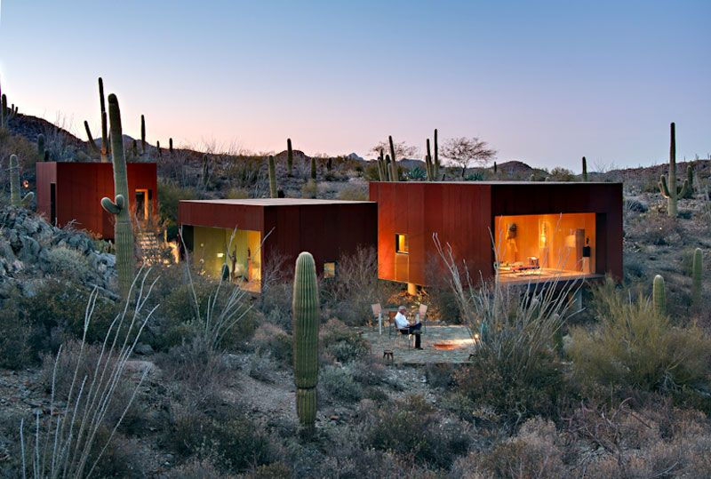 Desert Nomad House In Arizona By Rick Joy Architects Desert Homes Unusual Homes Architecture