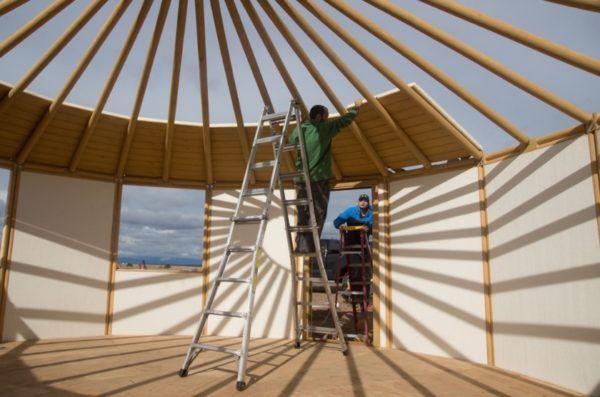 How To Build Your Own Freedom Yurt Cabin Yurt Cabin Yurt Living