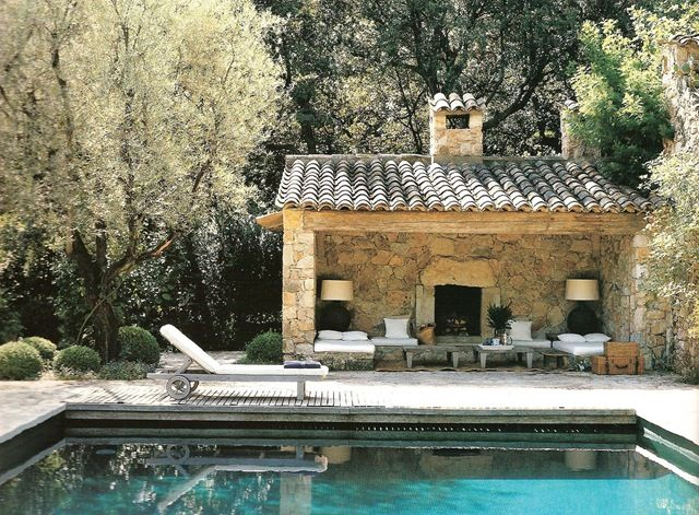 from provencal escapes wonders architecturewonders haux pinterest pool houses provence. Black Bedroom Furniture Sets. Home Design Ideas