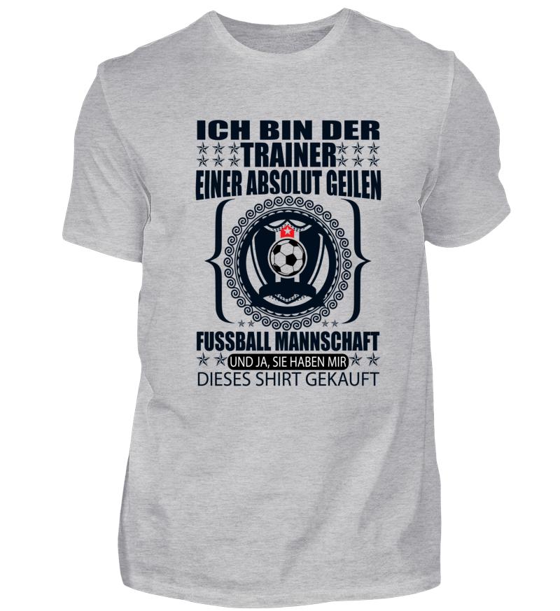 Trainer Einer Geilen Fussball Mannschaft Coole Shirts
