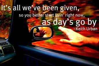 Keith Urban-Days Go By Lyrics - YouTube