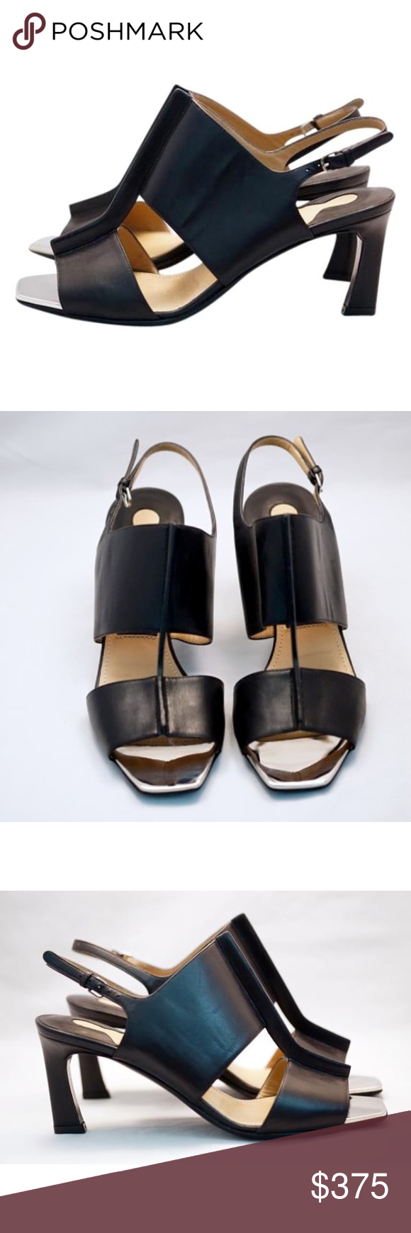 Salvatore Ferragamo Leather Pamelia T-Bar pumps 100% autentic Salvatore Ferragamo T-Bar Sandals Black Pumps || brand new never worn || size US 5.5 || non ori box and cleaning cloth included || msrp $750 Salvatore Ferragamo Shoes Heels