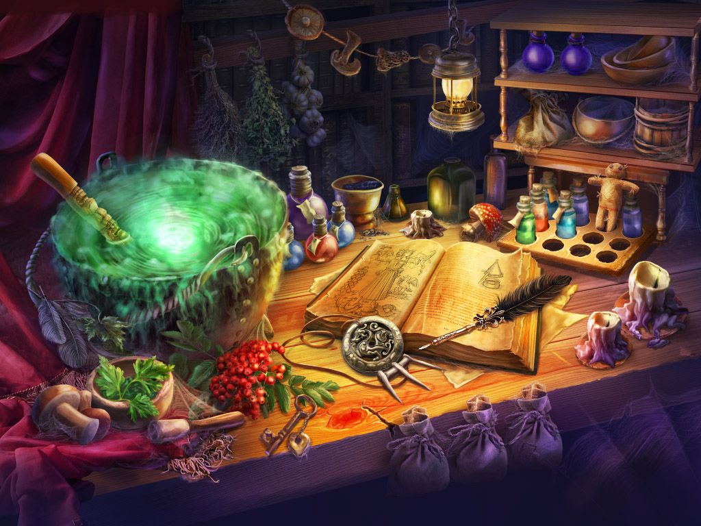 Visit the potion shop and pick up a mystical elixir in
