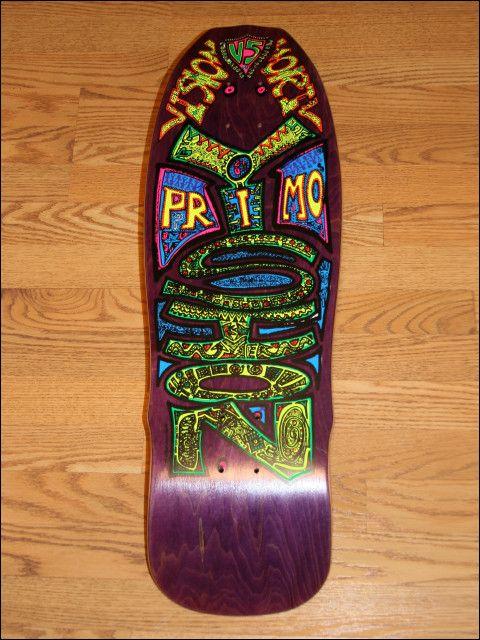 Vision Primo Skateboard Art Skateboard Art