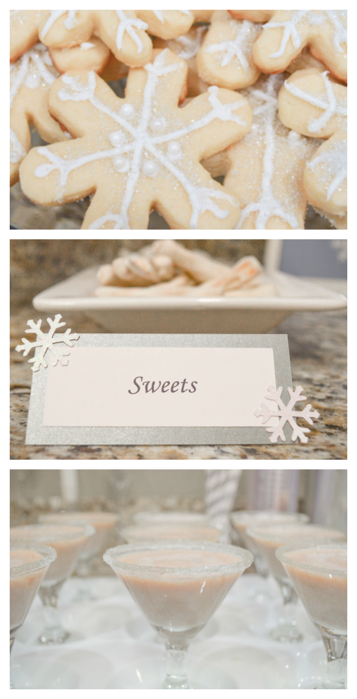 Friends Christmas Party Ideas Part - 42: All White Christmas Party Ideas