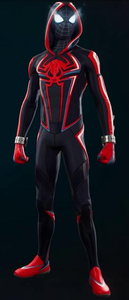 Miles Morales 2099 Suit Marvel Spiderman Art Amazing Spiderman Movie Spiderman