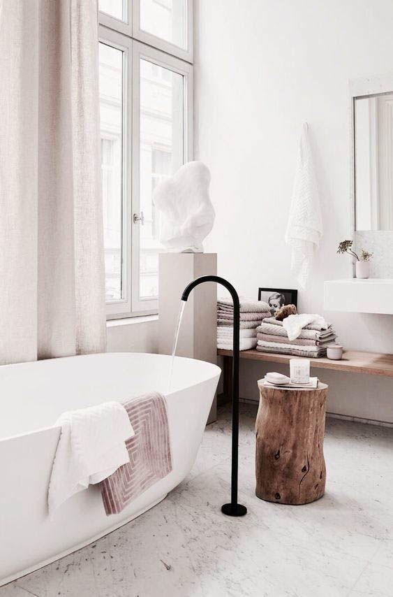 simple organic modern bath design traditional pacific northwest house tour on coco kelley interiordesign rue   decor inspiration in pinterest also rh