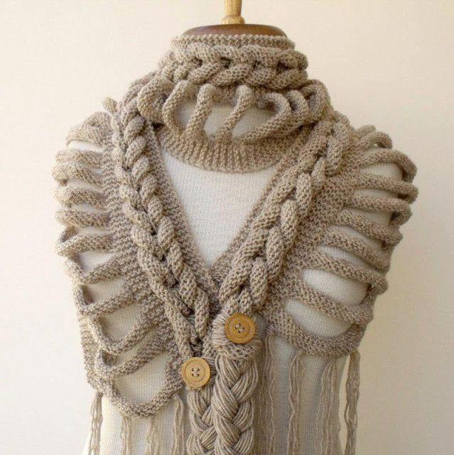 Tejidos Kangél: bufandas y cuellos | bufanda | Pinterest | Tejido