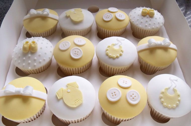 Baby Shower Cupcakes Goodcupcakes Com Baby Shower Cups Baby Shower Cakes Neutral Unisex Baby Shower Cakes