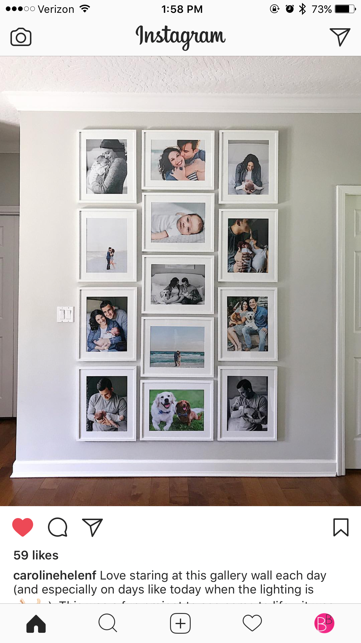Best 16X20 Ikea Ribba With 12X16 Matted Opening Family Wall 400 x 300