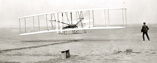 December 17, 1903 Orville Wright piloted the first successful flight