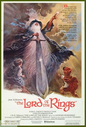 Fantasy  Lord of the Rings 24 X 14 inch Silk Poster