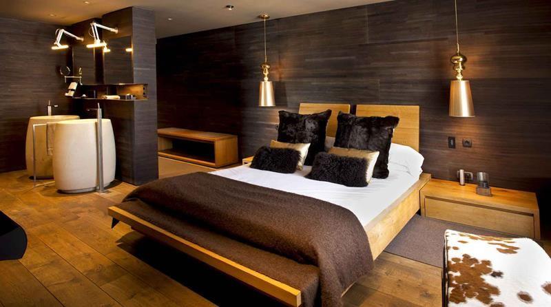 Fotos de interiores de casas 5 dormitorio hotel con - Fotos de habitaciones de lujo ...