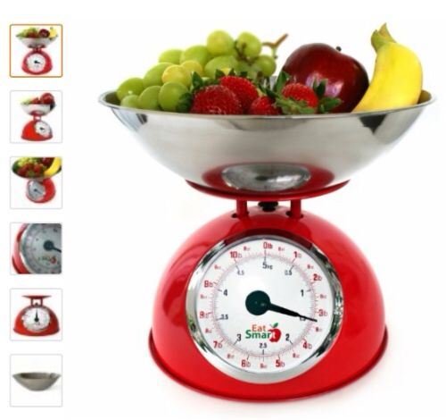 #EatSmart #PrecisionMechanicalKitchenScales #retro #scales #kitchen #weightloss #kitchenscales