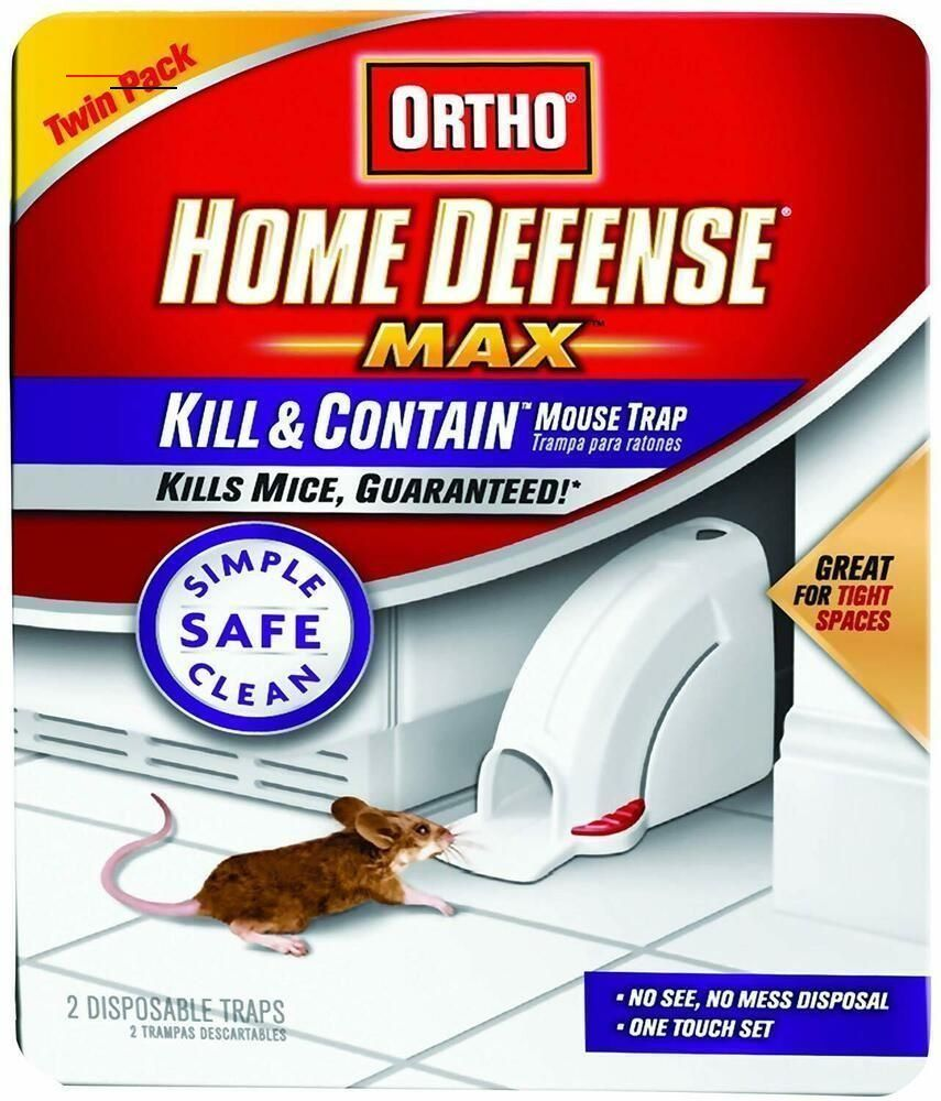 mousetrap in 2020 Mouse traps, Home defense, Twin pack