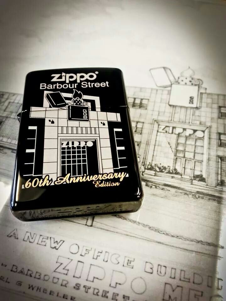 Behold the Barbour Street 60th Anniversary Edition Zippo lighter! Anyone have a visit to #Zippo HQ on their bucket list? http://shout.lt/twFb