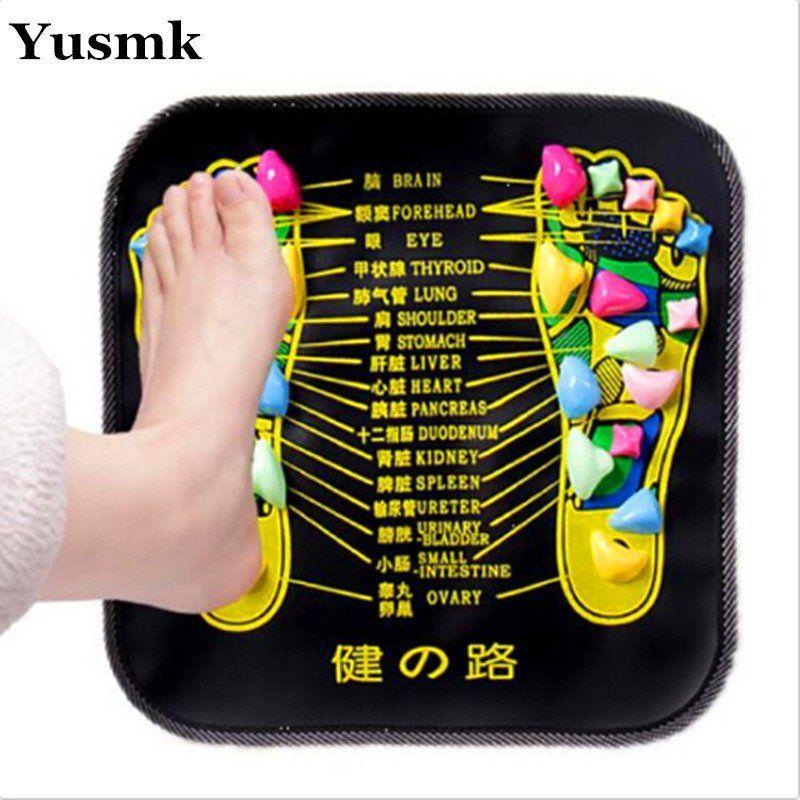 Health Care Reflexology Walking Stone Acupressure Foot