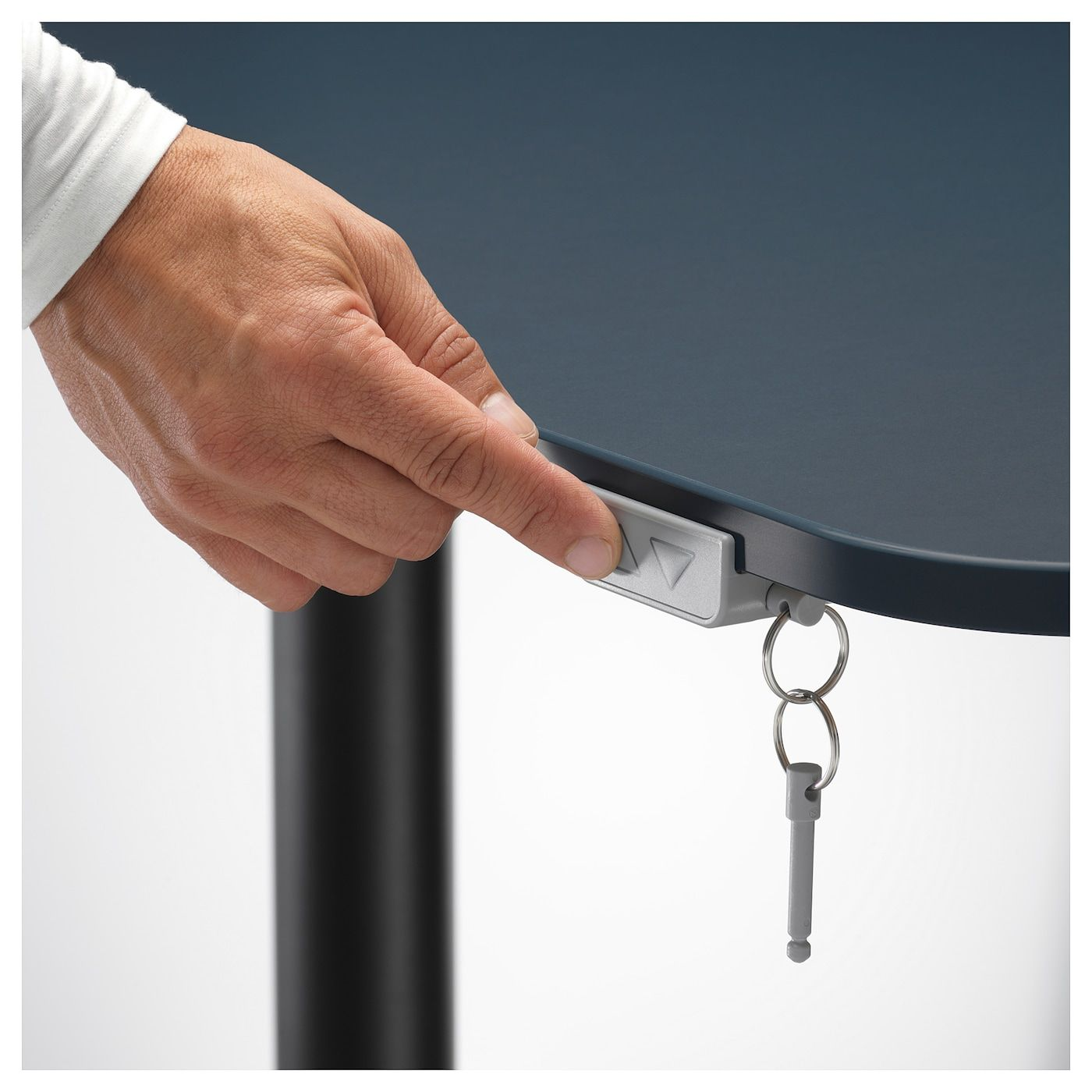 Bekant Ecktisch Links Sitz Steh Linoleum Blau Schwarz Ikea Osterreich Ecktisch Aufgeraumter Schreibtisch Und Ikea